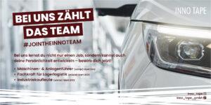 Join the INNO Team – Erschaffe Klebebandsysteme für die Automobilindustrie