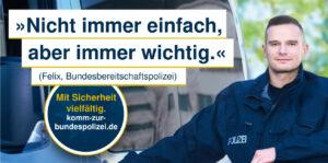 Mit Sicherheit vielfältig. komm-zur-bundespolizei.de